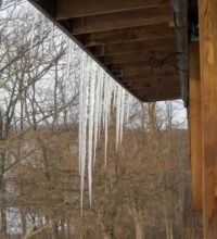 Icicles!