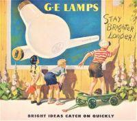 Themes Vintage ads - G.E Lamps