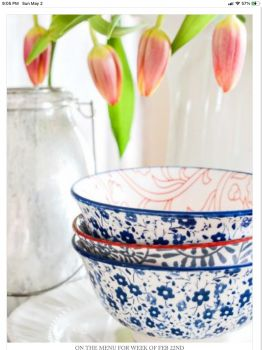 Tulips and Bowls