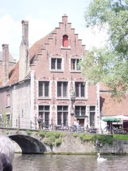 Gable house Bruges, Belgium