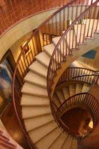 Amazing Staircase in the Webb building