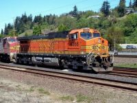 BNSF 4366 in Kalama, Washington
