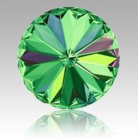 Lime-Green-Round-Stone-Shape