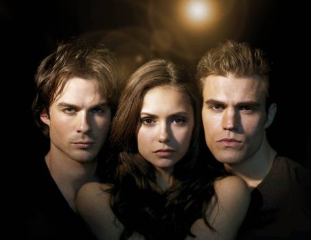 The Vampire Diaries Triangle