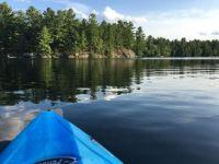 Kayaking after work last night