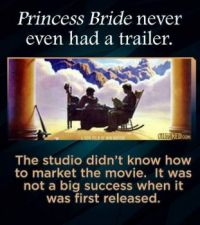 "15 Inconceivable Facts about ""The Princess Bride"" - Promotion"