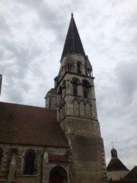 church 12th century  in Vermenton