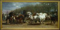 THE HORSE FAIR, 1853