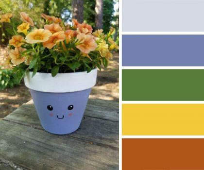 Happy Little Plant Pot