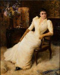 Albert Edelfelt  Madame Cohen 1890