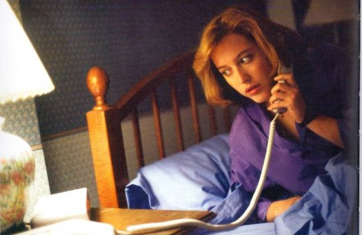 Gillian Anderson as Dana Scully in the X-Files