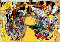 CRISIS ON INFINITE EARTHS--Rallying the Troops !