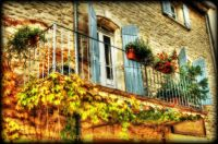 Balcony in Goult, France (Provence) - 96  pieces