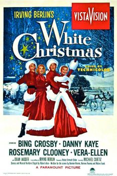 WHITE CHRISTMAS - BING CROSBY - POSTER,1954