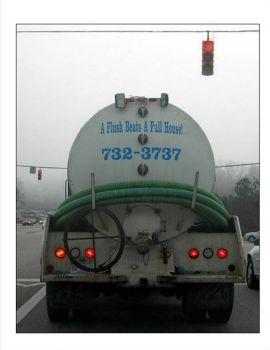 Funny Septic Tank Truck #3