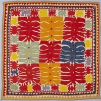 Appliquéd Cover, Artist/maker unknown, Indian, 1925-1950