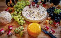 artistic spread aka cheese board