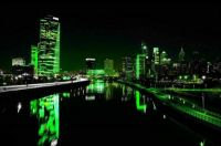 Philly Lit Up Green