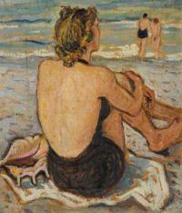 """""""Lady on the Beach - Luigi Bassano """""""