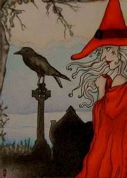 Red Witch and Crow