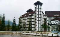 Our accommodation in the Cameron Highlands of Malaysia