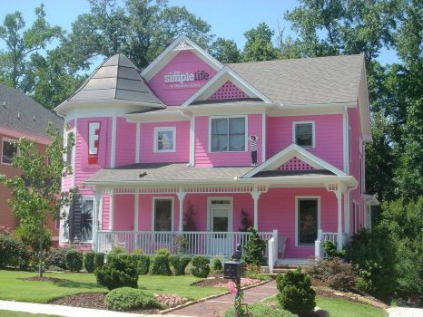 'Pink house', Atlanta, by Curt (flickr)