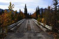 Bridge to glacier