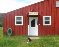 Theme: Farm Buildings - Creamery on Raw Milk Dairy, Canaan, VT