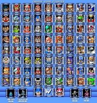 Megaman Boss Rush