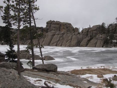 Sylvan Lake, Black Hills, S.D......mid-Winter