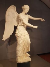 calco della Vittoria Alata presso il museo Santa Giulia, patrimonio dell'umanità Unesco - Brescia7