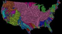 US Watershed Map