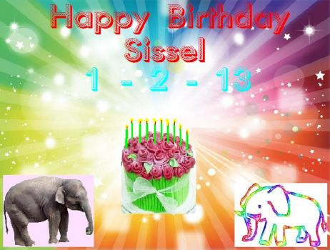 Happy Birthday Sissel