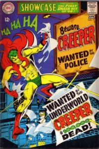 Showcase #73, first appearance of the Creeper