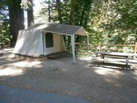 Camping at Felton California