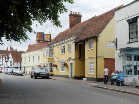 Dedham High Street, Essex.  Photo by David Dixon