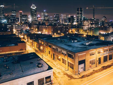 Montreal Urban Scene