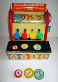 Vintage Toy Till