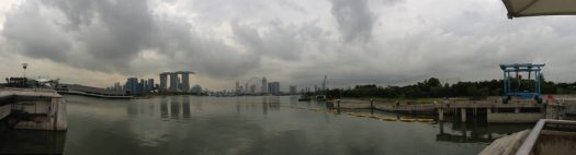 Panoramic view of the city skyline