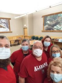 Me and the Wheeling Red Cross crew