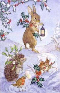 Holiday illustration English illustrator-author Molly Brett (1902–1990)