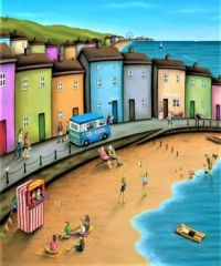 Seaside Resort Town