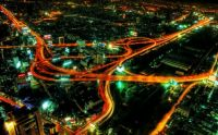 Freeways At Night
