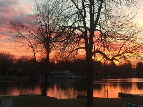 Seneca River Sunset