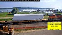 """""""Mystery Package"""" at Ft Madison on BNSF"""