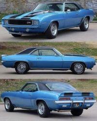 1969 Chevy Camaro!   Bandit...