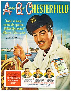 Vintage ad - Chesterfield Cigarettes