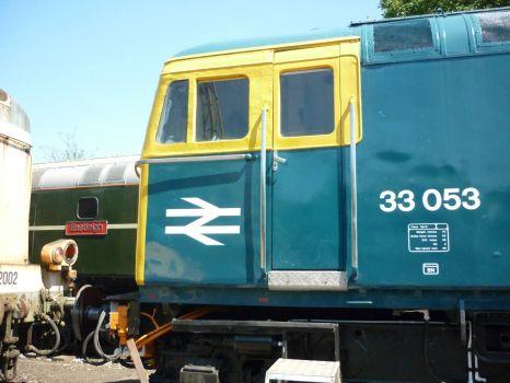 33053 at Shackerstone.