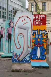 More pieces of the Berlin Wall