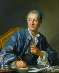Potrait of Denis Diderot - Louis-Michel van Loo